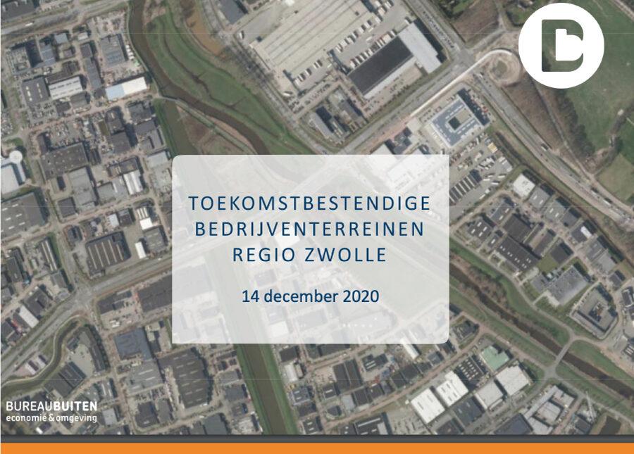 Rapport toekomstbestendig bedrijventerrein Regio Zwolle